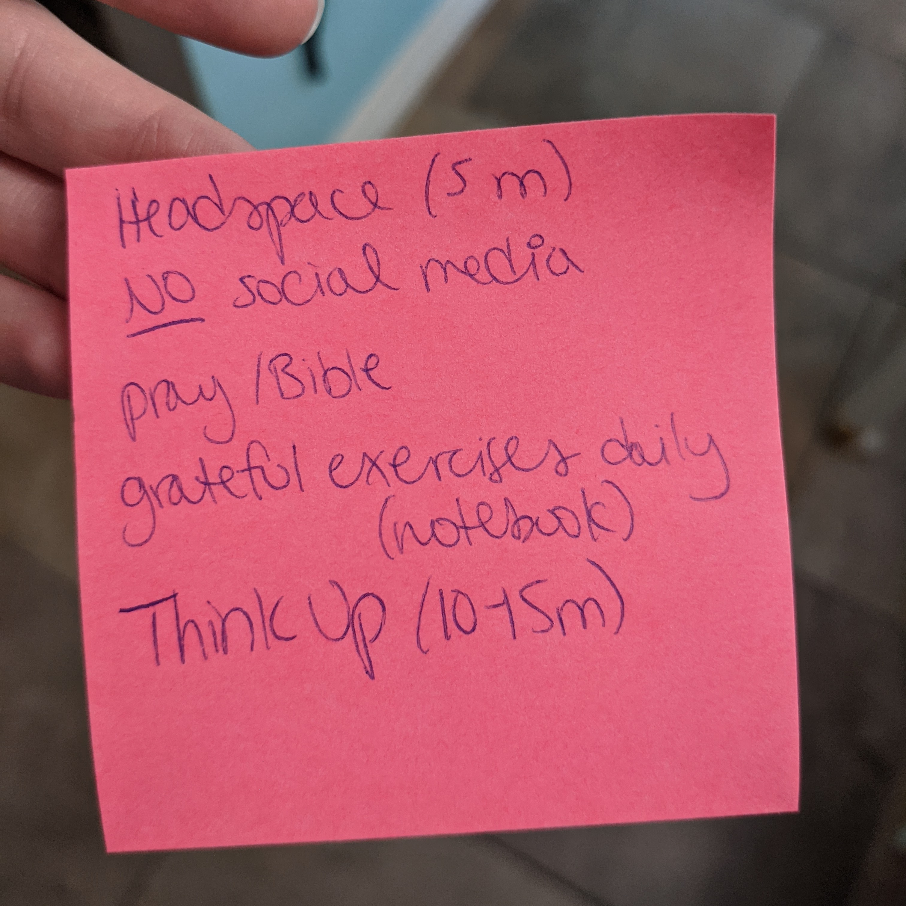 post-it with anxiety remedies